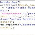 ワードプレスでソースコードを表示する